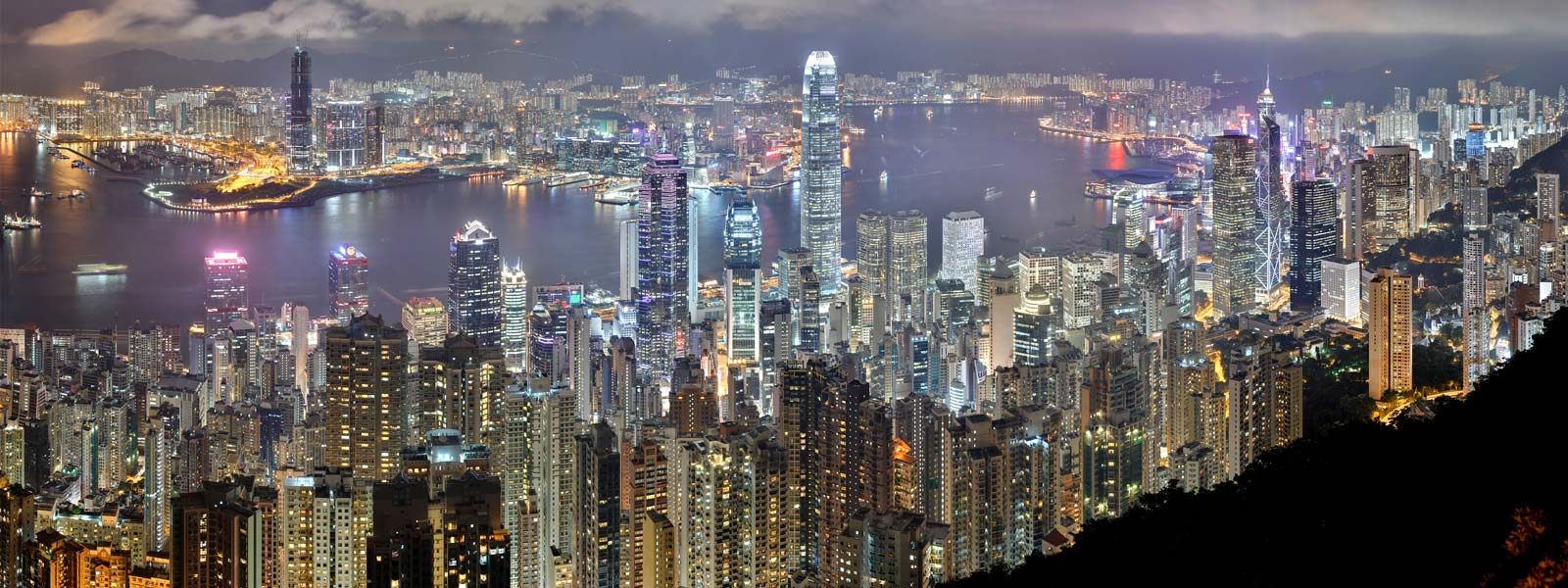 hong kong skyline - asian tour company